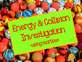 Energy Transfer & Collision Investigation-Using Marbles
