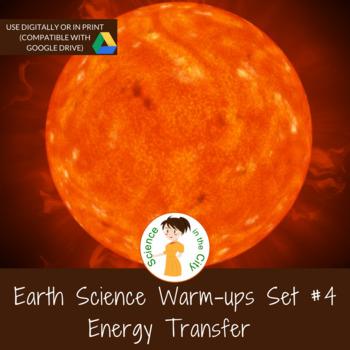 Energy Transfer Exit Ticket or Bell Ringer Task Card Set