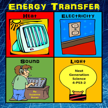 Energy Transfer: Heat, Sound, Light, Electric - Next Generation Science 4-PS3-2