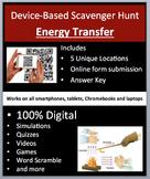 Energy Transfer – Device-Based Scavenger Hunt Activity