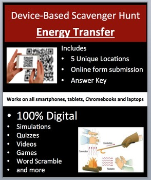 Energy Transfer – Device-Based Scavenger Hunt Activity