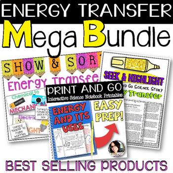 Energy Transfer Science Teaching Bundle - VALUED AT $8.00