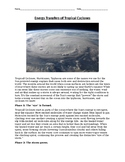 Energy Transfers of Tropical Cyclones