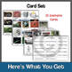 Energy Transformation Card Game (or Card Sort) Formative Assessment Activity