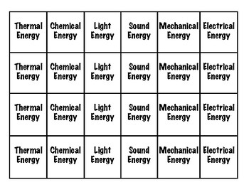 Energy Transformation Game