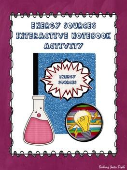Energy Transformation Interactive Notebook Activity
