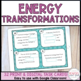 Energy Transformation Task Cards