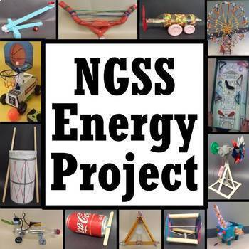 Potential Kinetic Energy Project - Forms of Energy & Transformations Activity