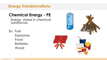 Energy Transformations Complete 5E Lesson Plan