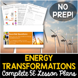 Energy Transformations Complete 5E Lesson Plan - Distance Learning