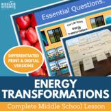 Energy Transformations Complete 5E Lesson Plan - Distance