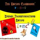 Energy Transformations Escape Room   The Escape Classroom