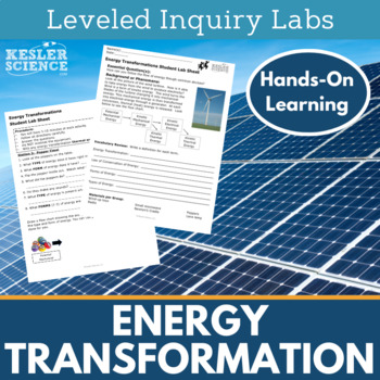 Energy Transformations Inquiry Labs