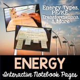 Energy Transformations Interactive Notebook Pages