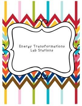 Energy Transformations Lab Stations
