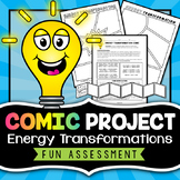 Energy Transformations Project - Comic Strip
