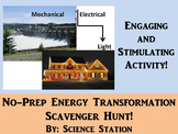 Energy Transformations Scavenger Hunt