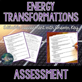 Energy Transformations - Science Assessment
