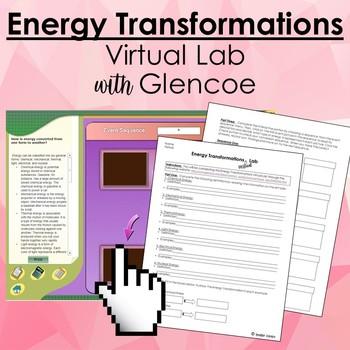 Energy Virtual Lab Worksheets Teaching Resources TpT