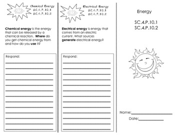 Energy Trifold
