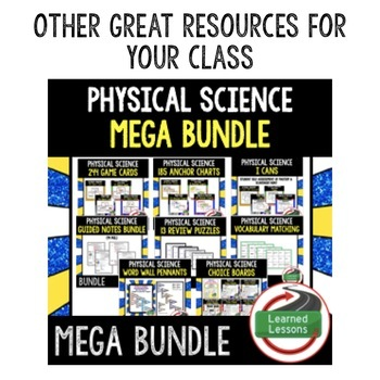 Energy Types Interactive Guided Notes and PowerPoints NGSS, Google & Print