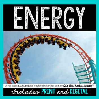 Energy Unit - Distance Learning Compatible