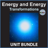 Energy and Energy Conversions Unit Bundle
