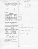 Energy Unit Exam Review Sheet Answer Key