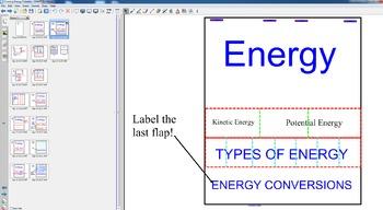 Energy Unit Foldable Notes