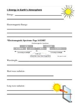 Energy Unit Notes