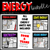 Energy Unit and Interactive Notebook