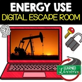 Energy Use Escape Room, Energy Use Breakout Room, Test Prep, Distance Learning