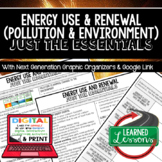 Energy Use & Renewal Just the Essentials Content Outlines, Next Generation