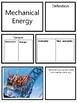 Energy Vocabulary Cards