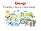 Energy Vocabulary Mini Posters
