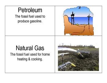 Energy Vocabulary Word Wall