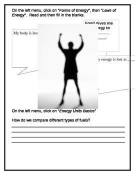 Energy Webquest