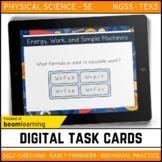 Energy, Work & Simple Machines Digital Task Cards Boom Car