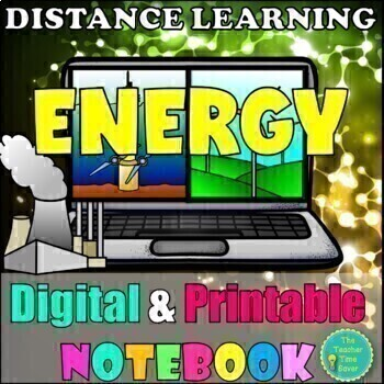 Energy, Work, and Simple Machines- Digital Interactive Notebook (5E Lessons)