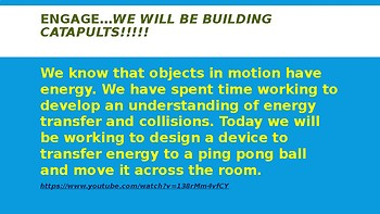 Energy and Converting Energy