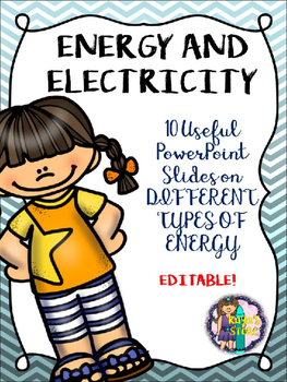 ENERGY AND ELECTRICITY POWERPOINT