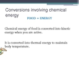 Energy and Energy resources- Energy conversions