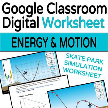Energy and Forces Skate Park Simulation Companion Worksheet