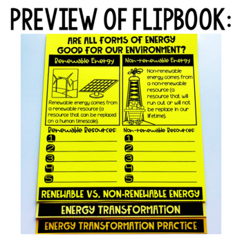 Energy and How it Transform Flipbook Energy Transfer Energy Transformation