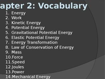 Energy and Machines Presentation