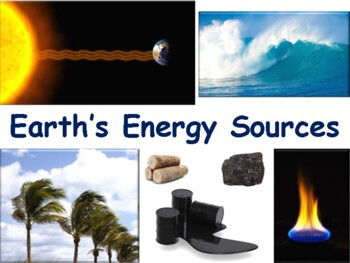 Energy and Resources Lesson - lesson, study guide, state e