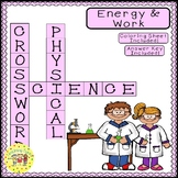 Energy and Work Crossword Puzzle