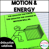 Energy and motion Interactive Notebook
