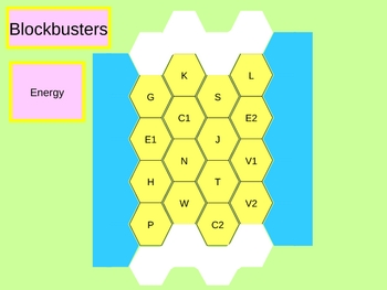 Energy blockbusters complete ppt game with questions