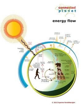 Energy flow on our planet: chart